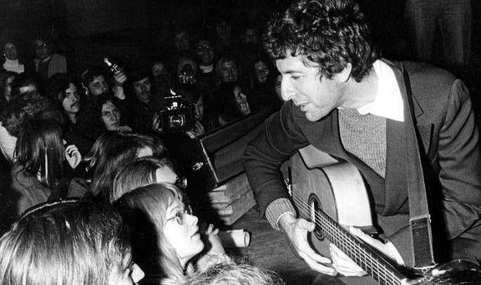 Leonard Cohen, crónica de un concierto 45 años después